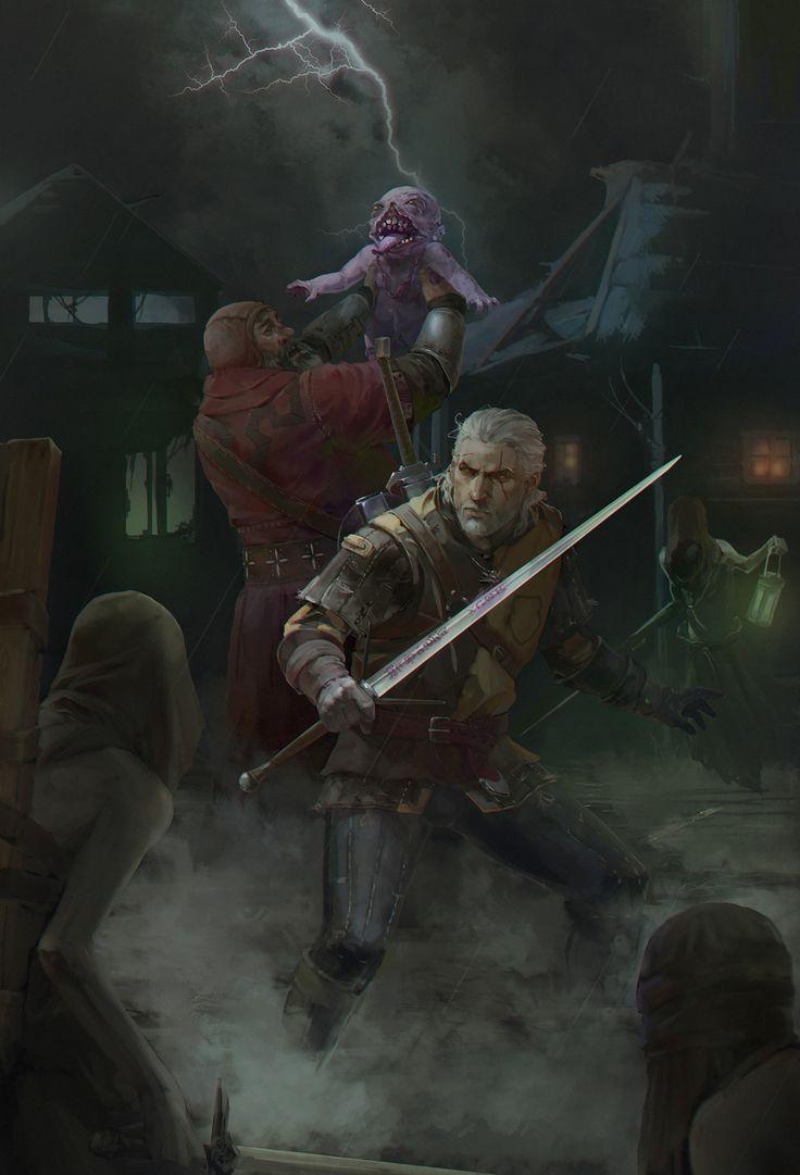 Artstation The Witcher 3 Igosha Evgeniy Loginov The Witcher