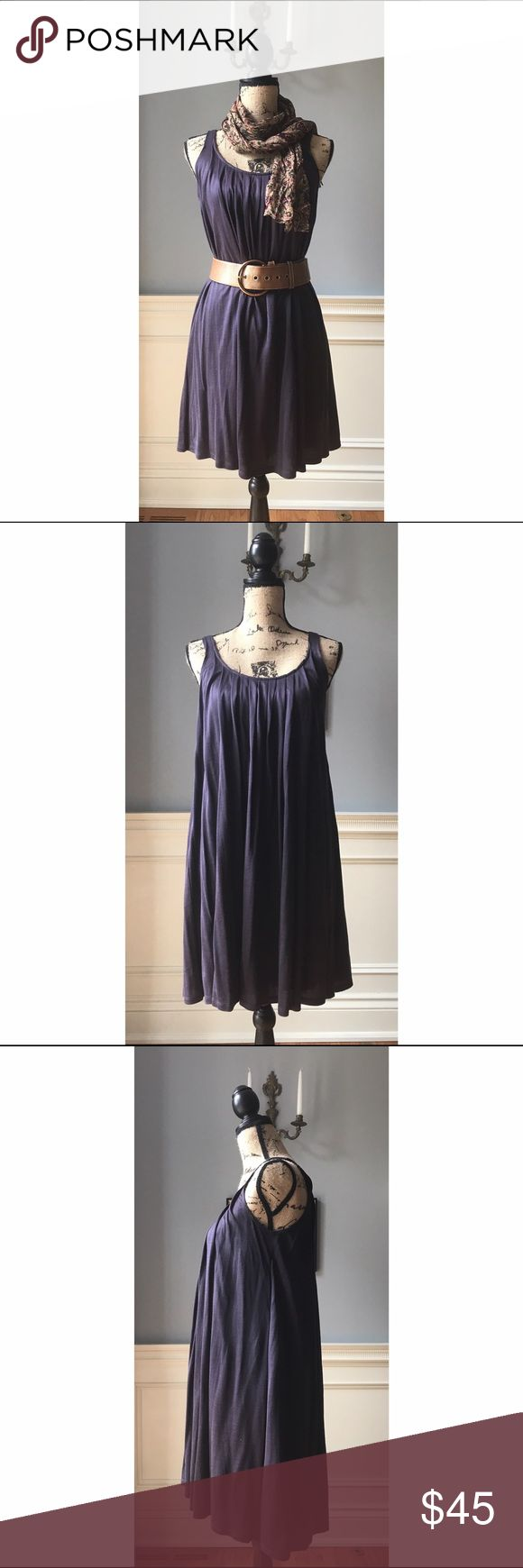 NWT Calvin Klein Eggplant Dress Sz XS NWT Calvin Klein dress, Sz XS. Almost free-size, lots of room. Perfect condition. No trades. **Belt and scarf not included!!** Calvin Klein Dresses Midi