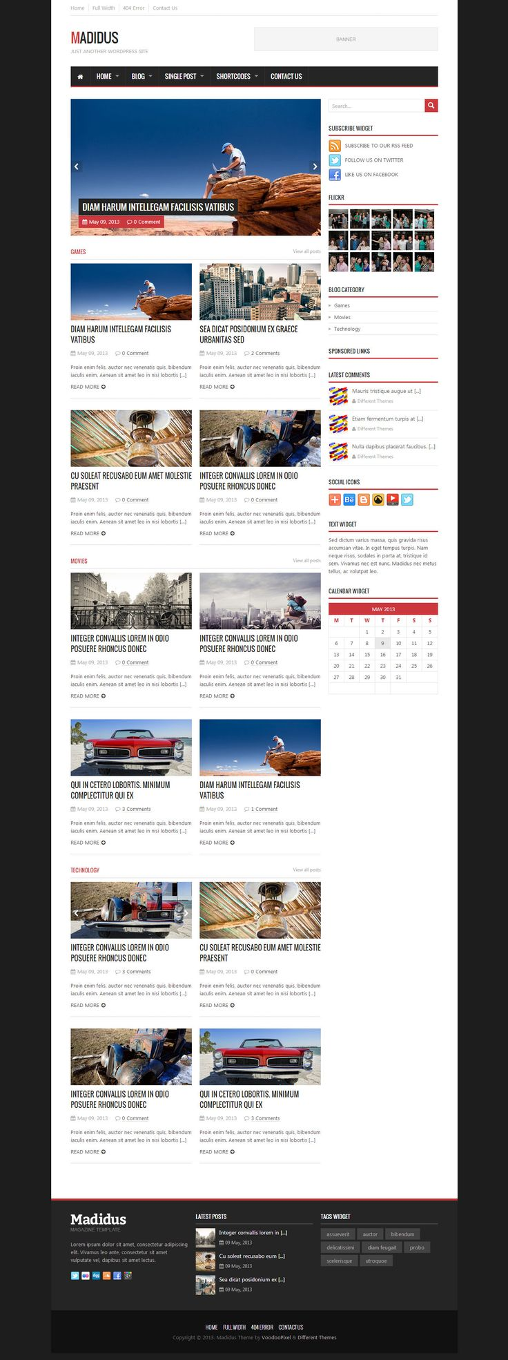 140 best Magazine Wordpress Themes images on Pinterest | Free ...