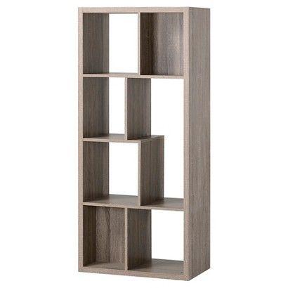 Homestar 7 Shelf Hollow Core Bookcase