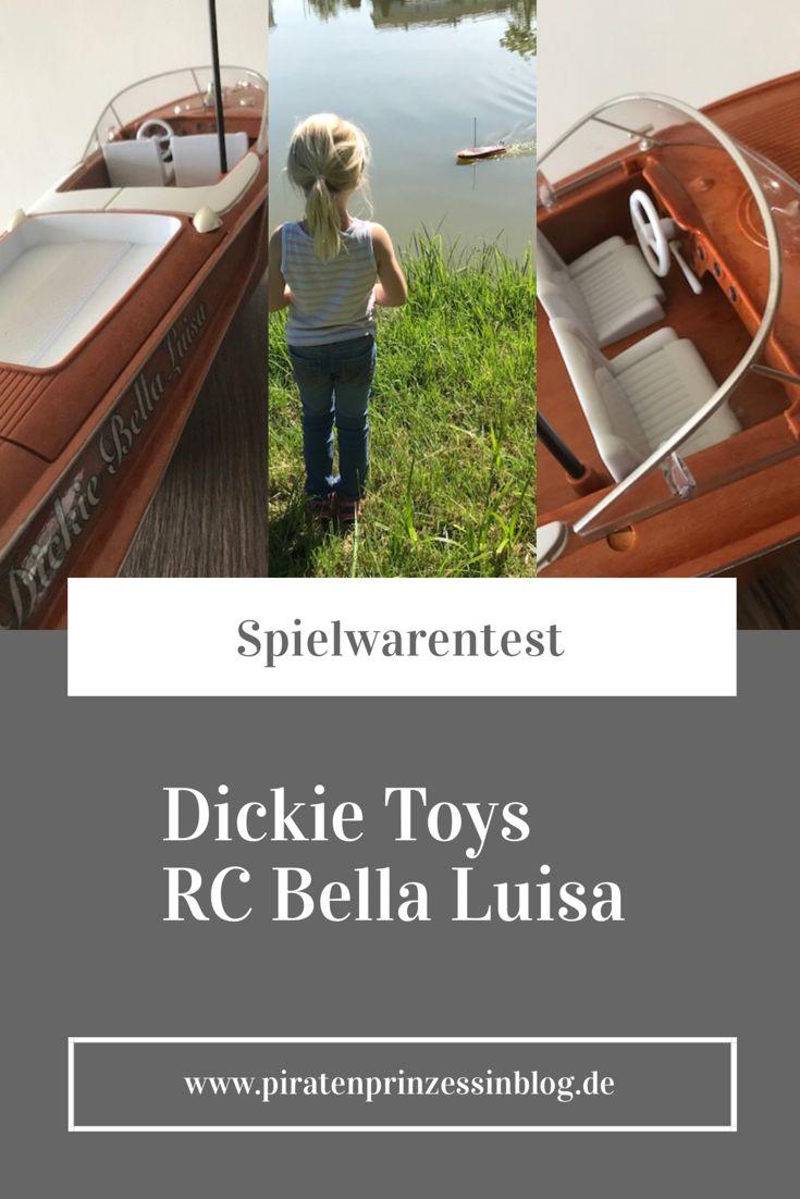 Mit der RC Bella Luisa von Dickie Toys holt ihr euch Italien-Feeling in heimische Gewässer. Das ferngesteuerte Sportboot lässt sich von Kindern einfach und sicher über die Seen steuern. Tolles Wasserspielzeug für spannende Stunden am See.