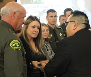 Detective's sacrifice honored by Placer County supes
