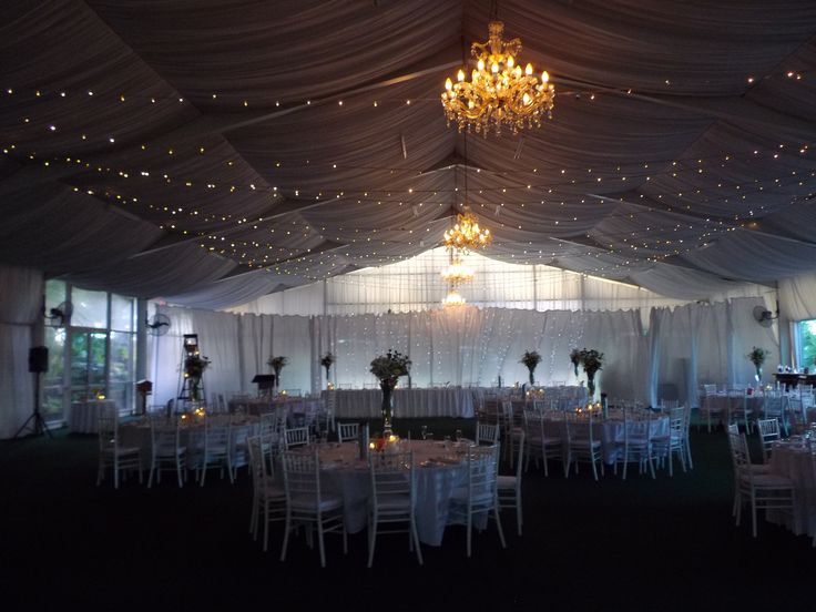 The marquee at Woodlands of Marburg Brisbane Celebrant Neal Foster The Marriage Celebrant performs weddings here.
