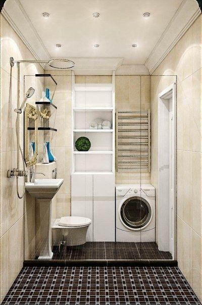 Идея интерьера для небольшой квартиры - Дизайн интерьеров   Идеи вашего дома   Lodgers