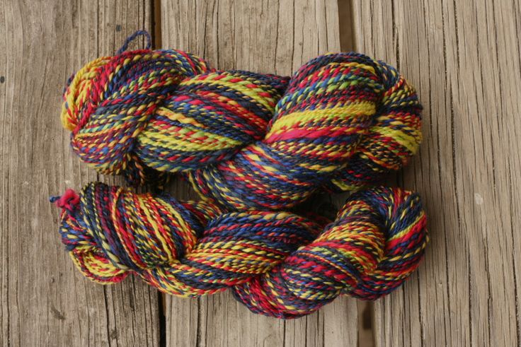 Knitting With Handspun Yarn : Handspinning a fractal yarn how to do it roving