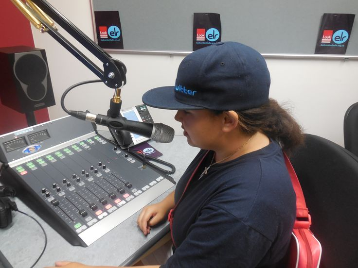 Shenice is speaking about herself in a short radio piece
