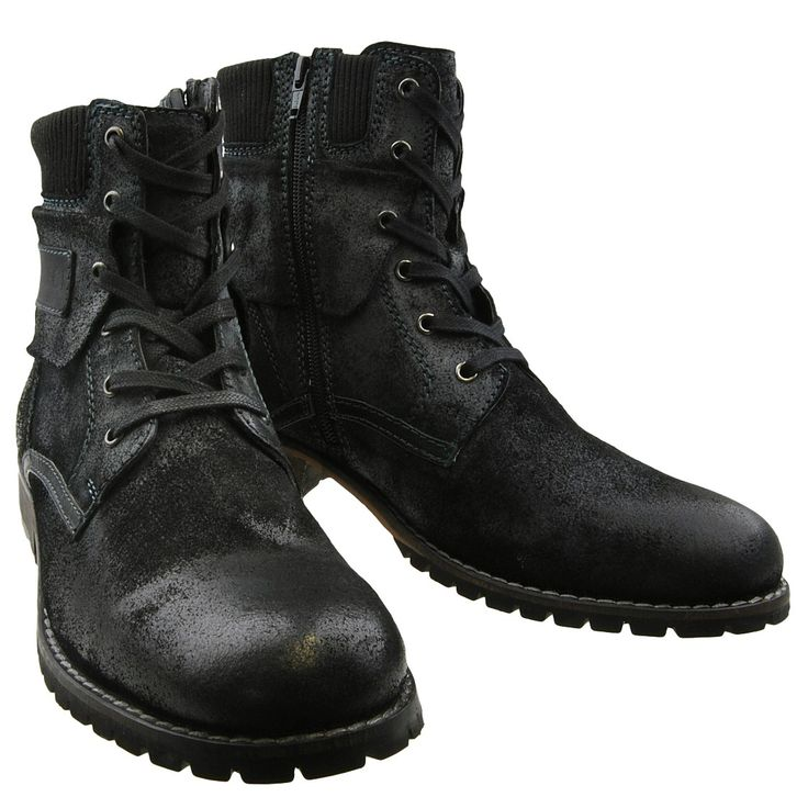 NEU S.Oliver Herrenschuhe Schuhe Stiefel Herrenstiefel Lederstiefel Boots | eBay