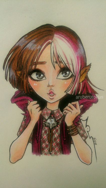 320 best ever after monster high images on pinterest cupid aruberutokun cerise hood with bob haircut hope you like it winobraniefo Image collections