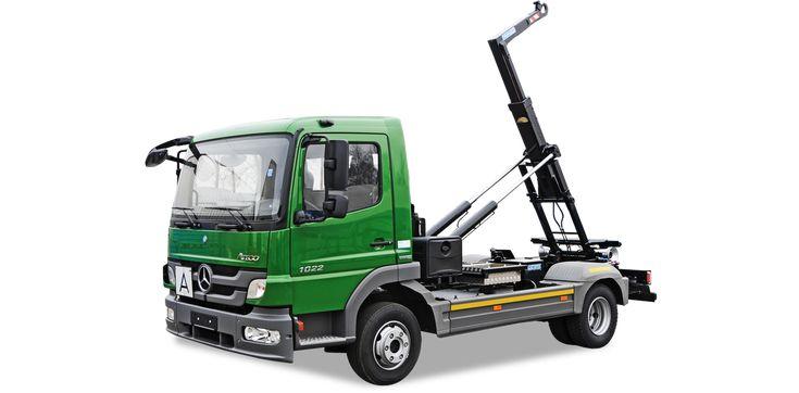 Jednoramenné nosiče kontejnerů s nosností 4 až 10 tun