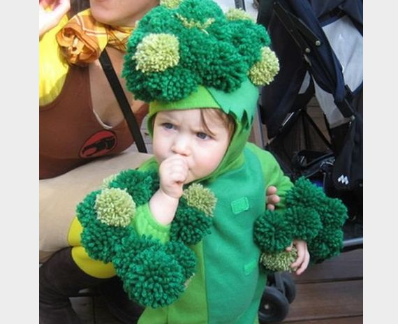 "We love this costume! ""Inspire kids everywhere to eat more vegetables when they need it most."""