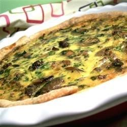 One of the best quiches I have ever had. Delicious and filling. Also great for dinner.