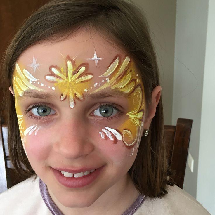 #facepainting #prinses belle
