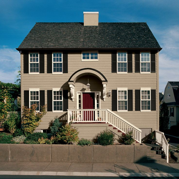 50 Best Images About Best Exterior Paint Colors For Homes