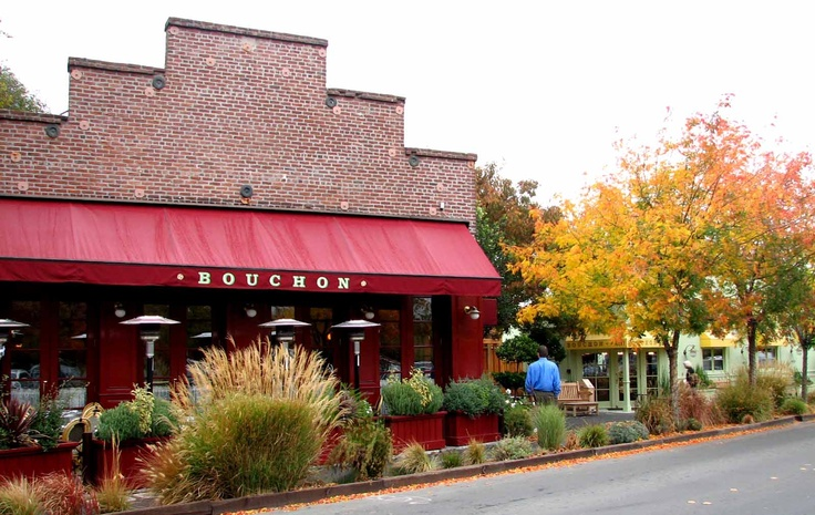 Bouchon - 1 of my favorite restaurants. Makes me want to go back to Napa!
