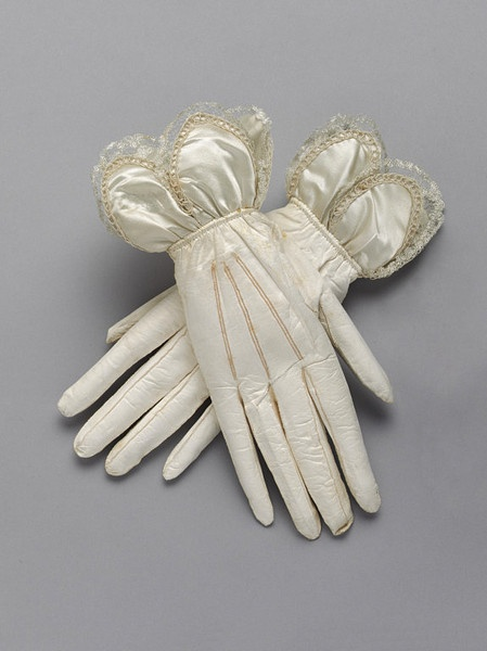 Kid leather wedding gloves 1833