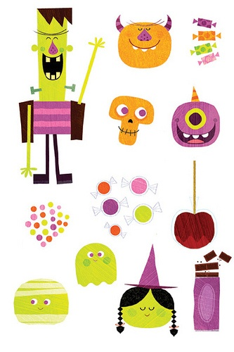 wonderful Halloween icons by Steve Mack