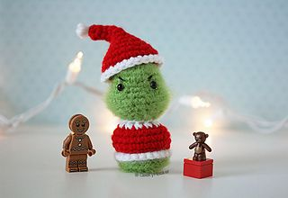 free pattern : The Grinch ! by The Geeky Hooker - Ravelry