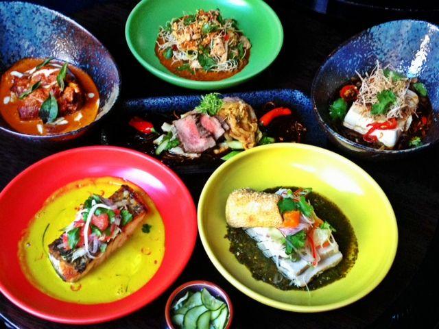 Hong Kong street food inspires the cuisine at Gingerboy.  http://blog.posse.com/2013/06/26/wok-the-casbah-8-of-the-best-asian-restaurants-in-melbourne/