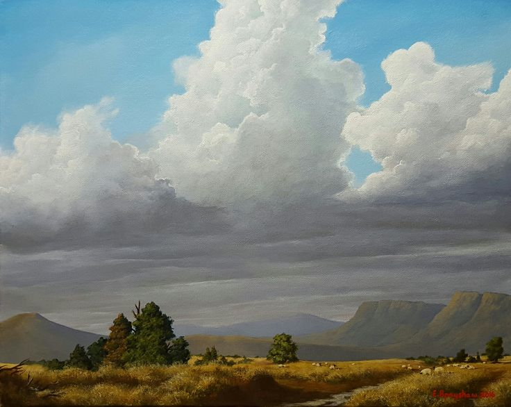 A shepherds golden valley - by Evan Brayshaw