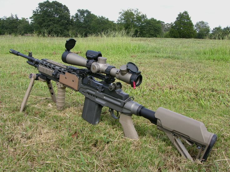 M21A5 EBR-2 7.62x51mm NATO by ~WolfWing9115 on deviantART ... M14 Sniper Rifle Usmc