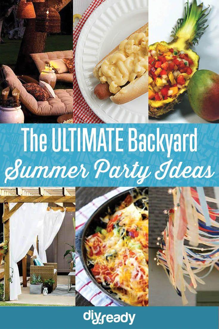 Backyard BBQ & Party Ideas