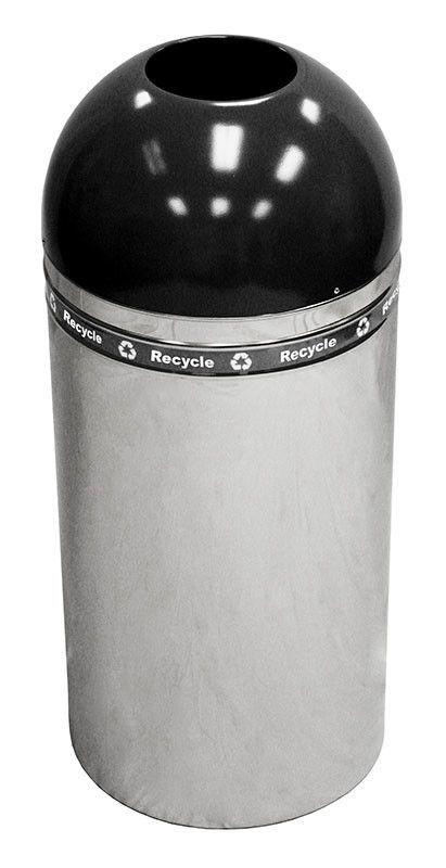 15-Gal Indoor Industrial Recycling Bin