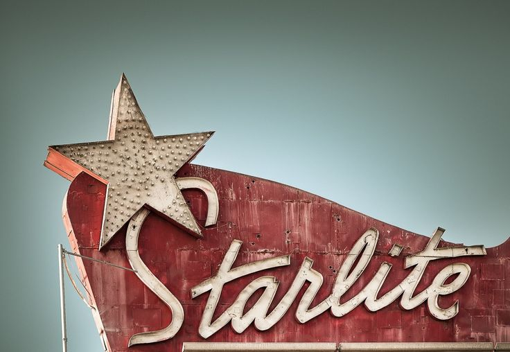 Starlite Drive-in Theatre by Marc Shur