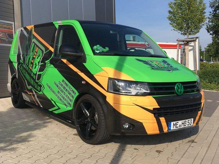VW T5 Multivan commercial graphics