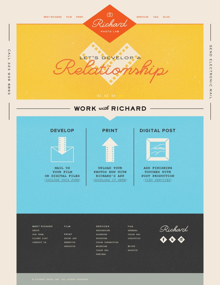 web design http://www.richardphotolab.com/