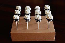 Black Belt Karate Cake Pops http://www.jamiessweetrevenge.com