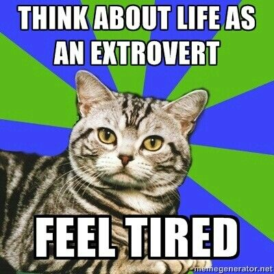 Introvert problems...lol