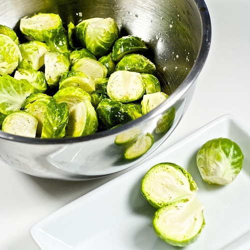 crispy brussel sprouts.