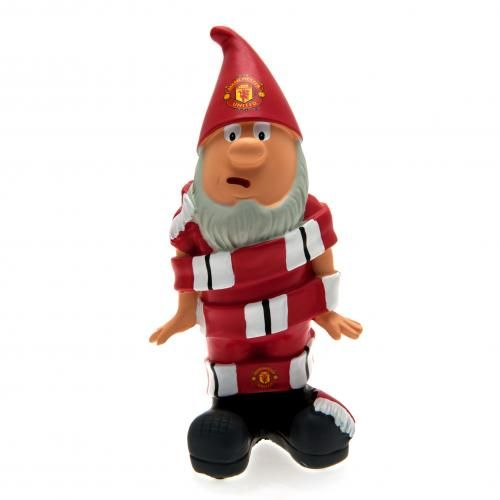 Traditional looking Manchester United Gnome which would make a great addition to any Man United fan's garden. FREE DELIVERY on all of our gifts