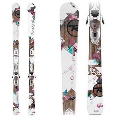 Attraxion 3 Echo Womens Skis with Rossignol Xelium Saphir 110S Bindings
