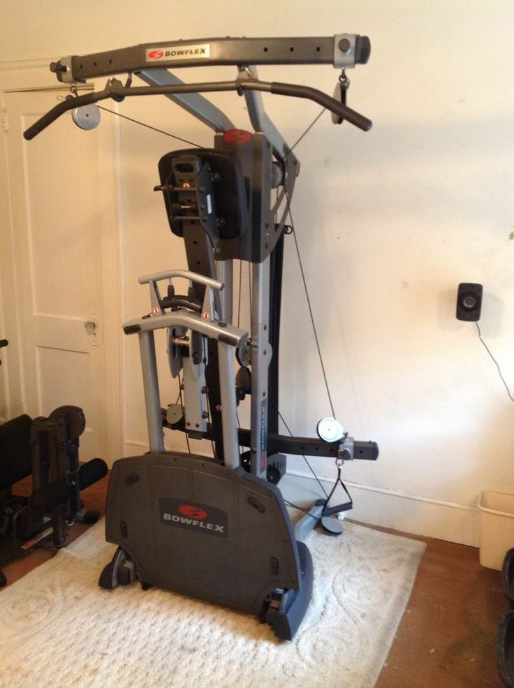 Bowflex ultimate with all accessories and accessory rack
