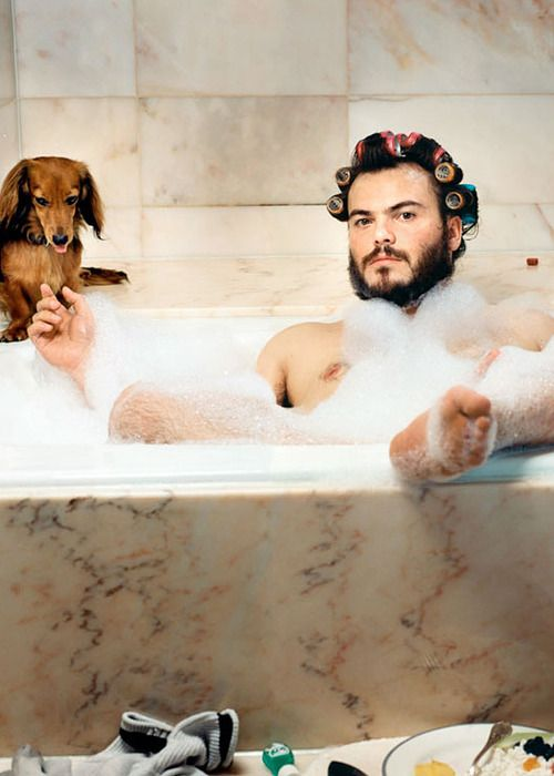 I love Him... and think he is so sexy.......Jack Black by Martin Schoeller
