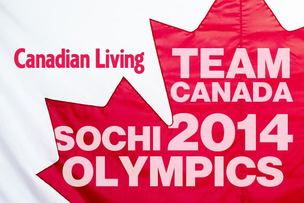 Team Canada: Sochi 2014 Olympics - features on athletes, food, party ideas to celebrate Canada at the 2014 games