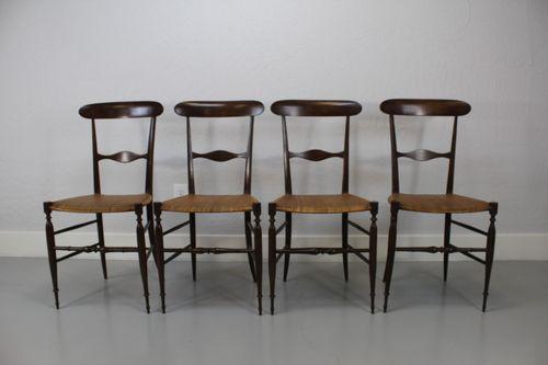 4 Columbo Sanguineti Dining Chair