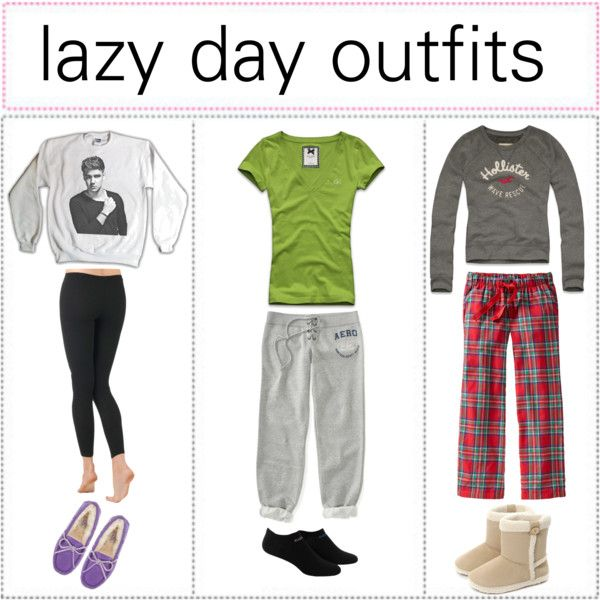 U0026quot;Lazy day outfitsu0026quot; by tipsters-and-we-know-it liked on Polyvore | My Style | Pinterest | We ...