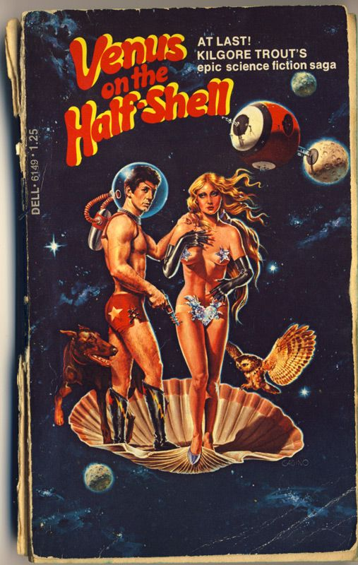 Philip Jose Farmer Book Covers | Cover of Kilgore Trout (aka Philip Jose Farmer)'s Venus on the Half ...