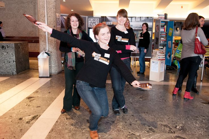 Dag van de Literatuur 3-2013, recensenten en lezers werven !