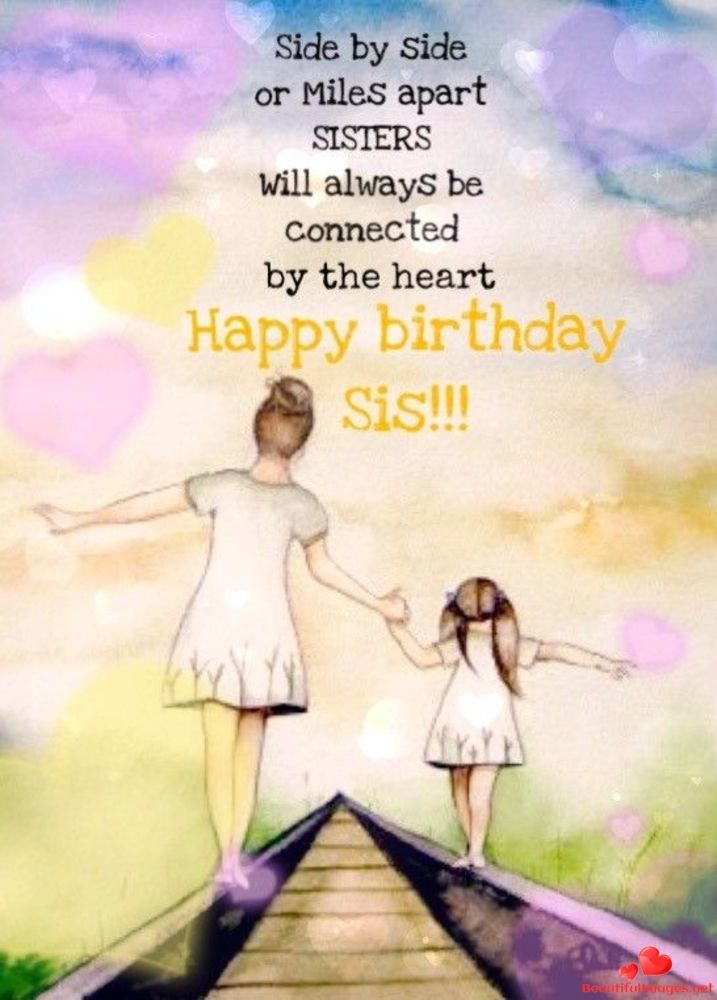 Happy Birthday To You My Friend Download For Free These Wonderful Nice Beauti Happy Birthday Sister Quotes Sister Birthday Quotes Birthday Wishes For Sister
