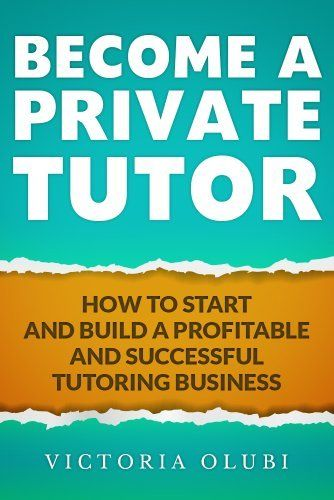 "Free Amazon Download for Apr 22 2013 - Become A Private Tutor: How To Start and Build A Profitable and Successful Tutoring Business by Victoria Olubi,  - Tutoring is a 5 billion dollar industy.  If you are the kind of person who loves learning new things and thrives when showing other how to reach their ""AH HA"" moment, then this is a must read.  Build your own business in Tutoring."