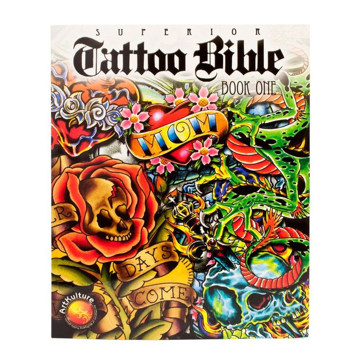 The Superior Tattoo Bible 500 Pieces of Unique Flash Art Book 1