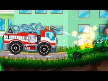 Мультики Мультфильмы для детей. Пожарные машины в мультике Работа пожарной службы. Смотреть мультики http://video-kid.com/11126-multiki-multfilmy-dlja-detei-pozharnye-mashiny-v-multike-rabota-pozharnoi-sluzhby-smotret-mult.html  Предлагаем вашему вниманию новый мультфильм для детей про пожарные машины. Сегодня мы вместе увидим как работают разные пожарные машины и как ловко они с эти делом справляются. Маленькие зрители очень любят смотреть видео про машинки, а также разные обучающие видео и…