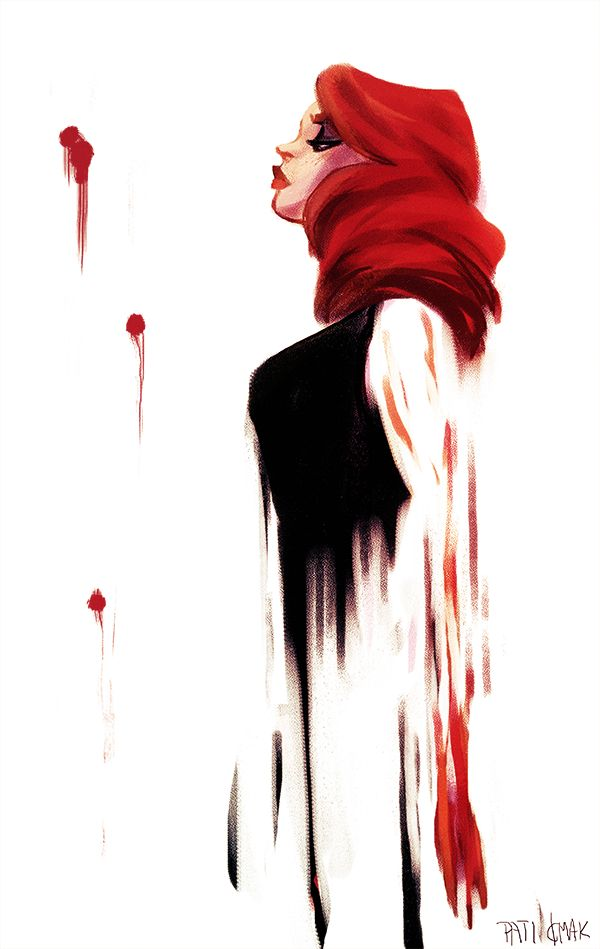 Black Widow    Natasha Romanoff    by Pati Cmak    600px × 949px    #fanart