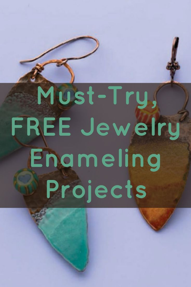 Learn everything you need to know about enameling jewelry in this FREE eBook that now includes NEW #enameling projects! #jewelrymaking #diy