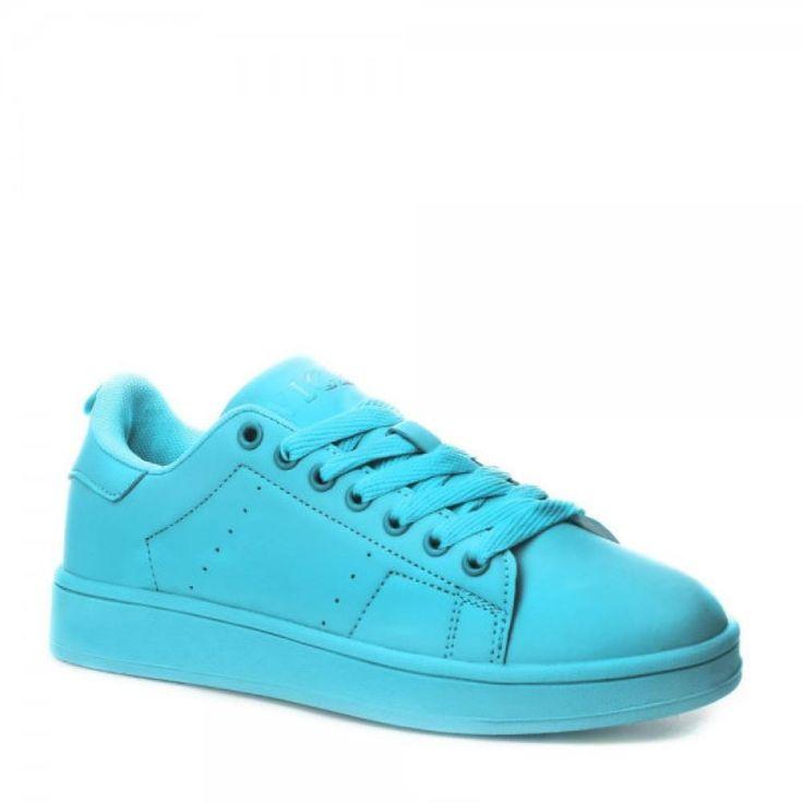 Scarpe blu sneakers DONNE Trampki da ingrosso e import