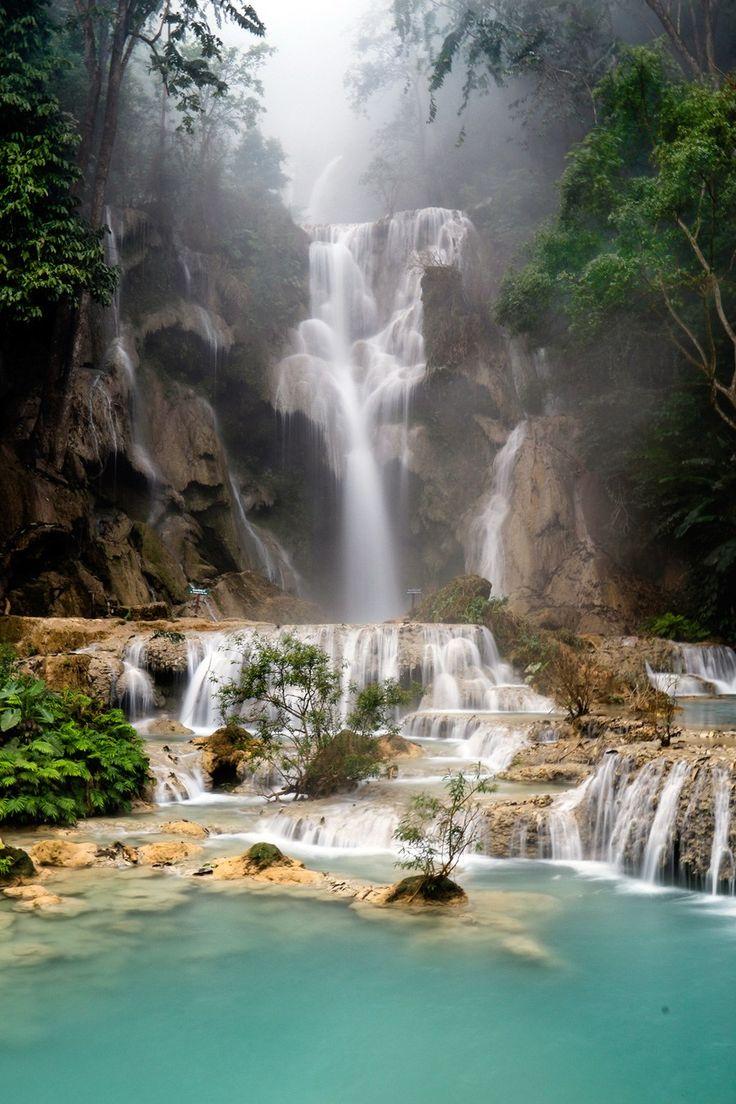 ラオスの癒やしスポットナンバーワン「クアンシーの滝」/ラオス