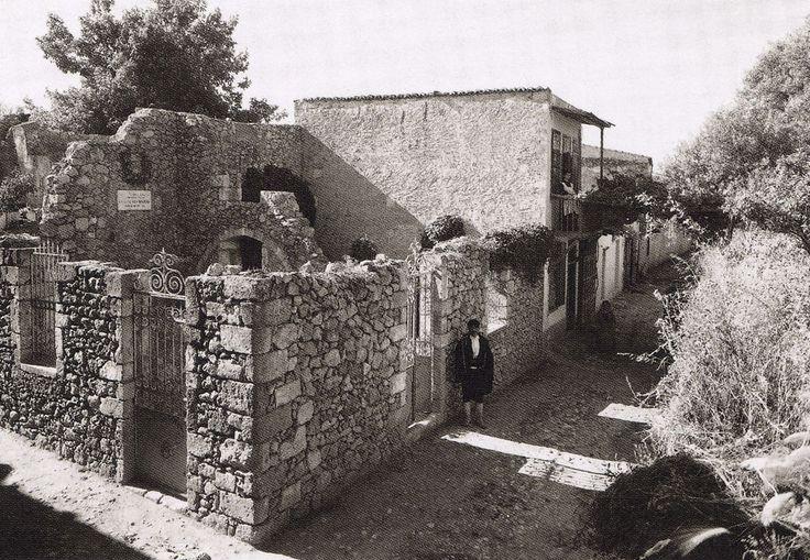 Μουρνιές,Σπίτι Βενιζέλου.Fred boissonnas-1911